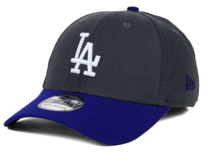 Los Angeles Dodgers MLB Graphite Team Classic 39THIRTY Cap Hats