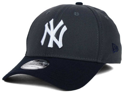 New York Yankees MLB Graphite Team Classic 39THIRTY Cap Hats