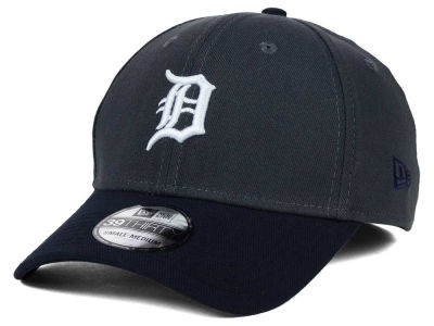 Detroit Tigers MLB Graphite Team Classic 39THIRTY Cap Hats