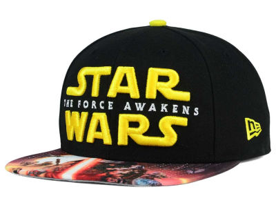 Star Wars The Force Awakens Viza Print 9FIFTY Snapback Cap Hats