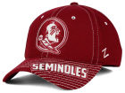 Florida State Seminoles Zephyr NCAA Slant Team Color Flex Hat Stretch Fitted Hats