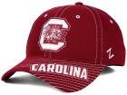 South Carolina Gamecocks Zephyr NCAA Slant Team Color Flex Hat Stretch Fitted Hats