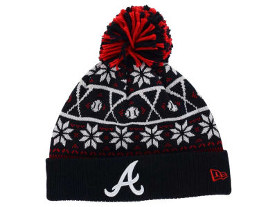 Atlanta Braves MLB Sweater Chill Pom Knit Hats