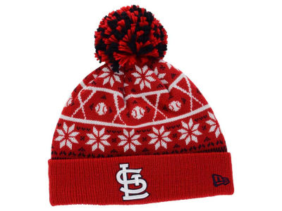 St. Louis Cardinals MLB Sweater Chill Pom Knit Hats