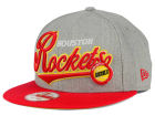 Houston Rockets New Era NBA HWC Big Heather 9FIFTY Snapback Cap Adjustable Hats
