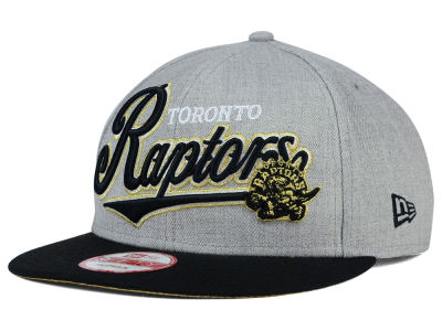 Toronto Raptors NBA HWC Big Heather 9FIFTY Snapback Cap Hats