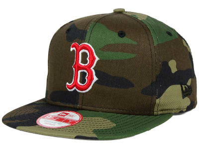Boston Red Sox MLB State Clip 9FIFTY Snapback Cap Hats