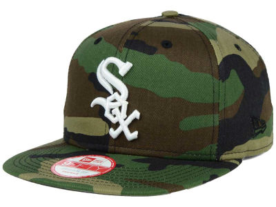 Chicago White Sox MLB State Clip 9FIFTY Snapback Cap Hats