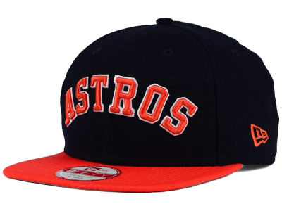 Houston Astros MLB XL Script 9FIFTY Snapback Cap Hats