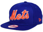 New York Mets New Era MLB XL Script 9FIFTY Snapback Cap Adjustable Hats