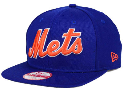 New York Mets MLB XL Script 9FIFTY Snapback Cap Hats