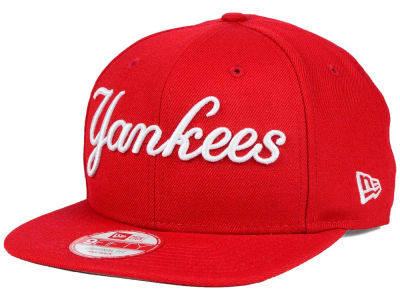 New York Yankees MLB XL Script 9FIFTY Snapback Cap Hats