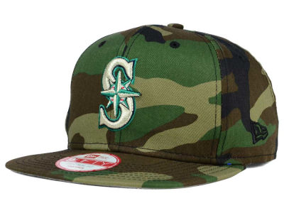 Seattle Mariners MLB State Clip 9FIFTY Snapback Cap Hats
