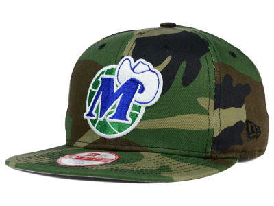 Dallas Mavericks NBA HWC State Clip 9FIFTY Snapback Cap Hats
