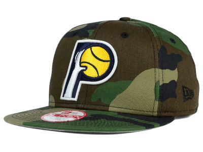 Indiana Pacers NBA HWC State Clip 9FIFTY Snapback Cap Hats