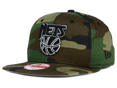 New Jersey Nets NBA HWC State Clip 9FIFTY Snapback Cap Hats