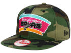 San Antonio Spurs New Era NBA HWC State Clip 9FIFTY Snapback Cap Adjustable Hats