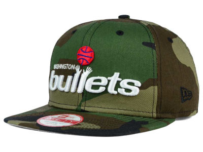 Washington Bullets NBA HWC State Clip 9FIFTY Snapback Cap Hats