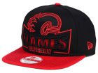 Calgary Flames New Era NHL Grader 9FIFTY Snapback Cap Adjustable Hats