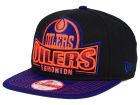 Edmonton Oilers New Era NHL Grader 9FIFTY Snapback Cap Adjustable Hats