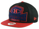 Montreal Canadiens New Era NHL Grader 9FIFTY Snapback Cap Adjustable Hats