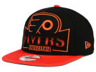 Philadelphia Flyers New Era NHL Grader 9FIFTY Snapback Cap Adjustable Hats