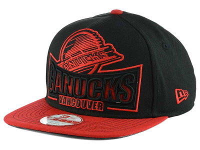 Vancouver Canucks NHL Grader 9FIFTY Snapback Cap Hats