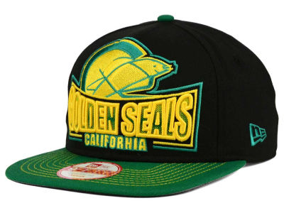 California Golden Seals NHL Grader 9FIFTY Snapback Cap Hats