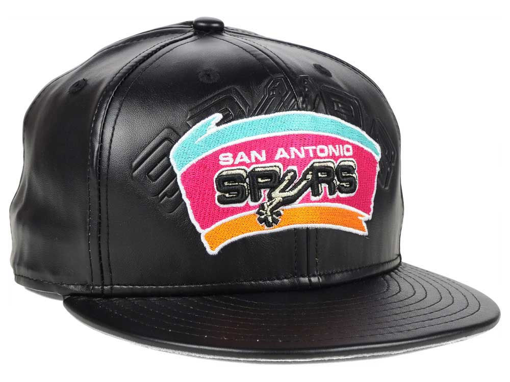 timeless design d81b7 9e0c5 ... germany amazon best san antonio spurs new era nba hwc leather stamp 9fifty  snapback cap 1327f