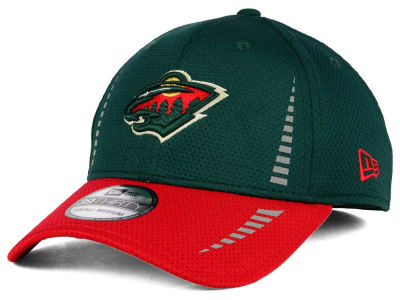 Minnesota Wild NHL 2 Tone Reflective 39THIRTY Cap Hats