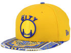 Golden State Warriors New Era NBA HWC Kaleidovize 9FIFTY Snapback Cap Adjustable Hats