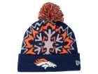 Denver Broncos New Era NFL Glowflake 2.0 Knit Hats