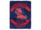 Ole Miss Rebels The Northwest Company 60x80 Raschel Throw Bed & Bath