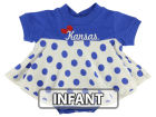 Kansas Jayhawks NCAA Infant Polka Dot Dress Infant Apparel