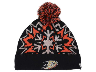 Anaheim Ducks NHL Glowflake 2.0 Knit Hats