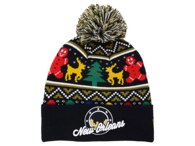 New Orleans Flagship Ugly Sweater Knit Hats