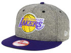 Los Angeles Lakers New Era NBA Hardwood Classics Houndsteam Snapback Cap Adjustable Hats