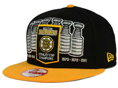 Boston Bruins NHL Boston Pack Series 9FIFTY Snapback Cap Hats