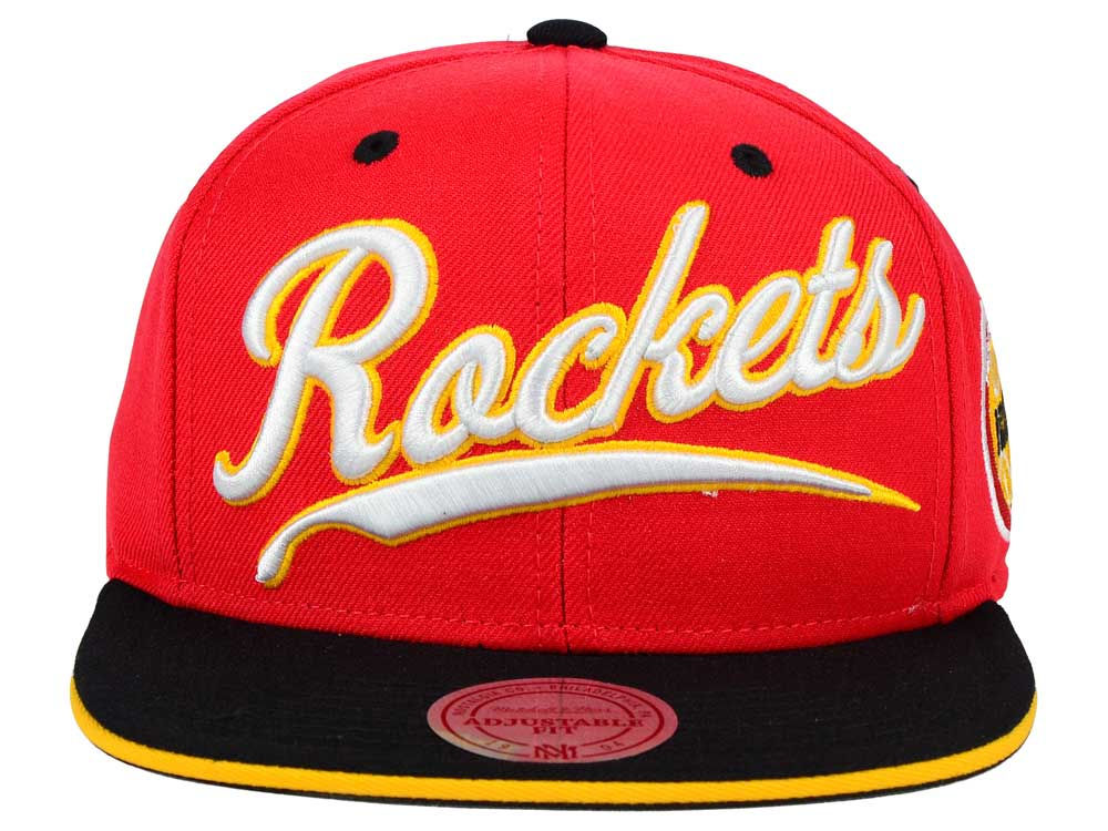 online store 1f5c0 e7f8e ... order outlet houston rockets mitchell and ness nba billboard script  snapback cap 7f746 af1d1