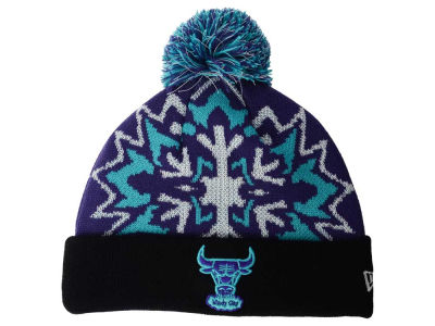 Chicago Bulls NBA HWC Glowflake 2.0 Knit Hats