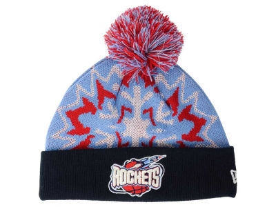 Houston Rockets NBA HWC Glowflake 2.0 Knit Hats