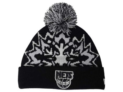 New Jersey Nets NBA HWC Glowflake 2.0 Knit Hats