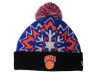 New York Knicks New Era NBA HWC Glowflake 2.0 Knit Hats