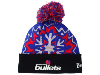 Washington Bullets NBA HWC Glowflake 2.0 Knit Hats