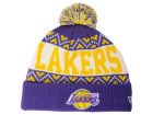 Los Angeles Lakers New Era NBA HWC Biggest Ugly Knit Hats