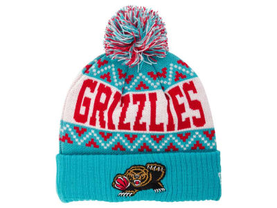 Vancouver Grizzlies NBA HWC Biggest Ugly Knit Hats