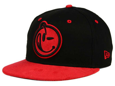 YUMS Classic Outline Suede 9FIFTY Snapback Cap Hats