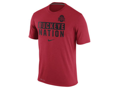 Nike NCAA Men's Legend Local Verbiage Crew T-Shirt