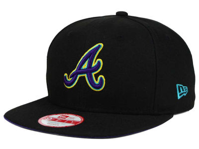 Atlanta Braves MLB Aqua Hook Basic 9FIFTY Snapback Cap Hats