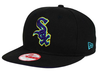 Chicago White Sox MLB Aqua Hook Basic 9FIFTY Snapback Cap Hats